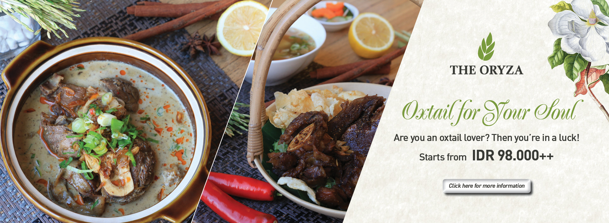 Oxtail Promotion